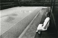 jardin zen, kyoto by edouard boubat