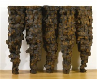 five cones (in 5 parts) by ursula von rydingsvard