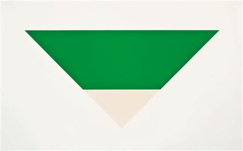 greenwhite by ellsworth kelly