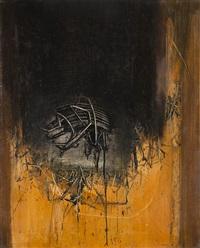 l'ombra sospesa nel vuoto by emilio scanavino
