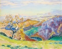 paysage by armand guillaumin