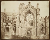 melrose abbey by william henry fox talbot