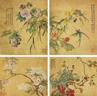 花卉小品 by tang shishu