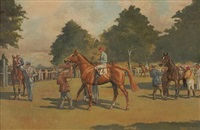 in the paddock by wilfred bailey