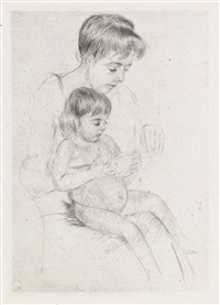 the manicure by mary cassatt