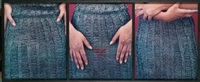 lower region (triptych) by lorna simpson