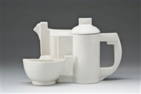 teekanne mit tasse (set of 2) by kazimir malevich