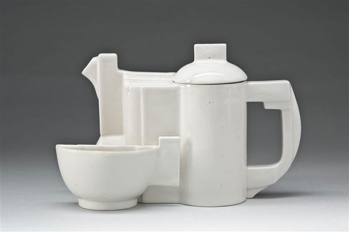 teekanne mit tasse set of 2 by kazimir malevich