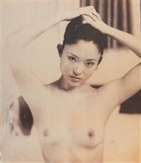 nobuyoshi araki kaori by 20 x 24 instant film, (portfolio of 12) by nobuyoshi araki