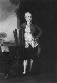 portrait of a gentleman, said to be constantine john phipps,2nd baron mulgrave (1744-1792) by edward alcock
