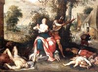 le martyre de sainte agnès by alexander adriaenssen