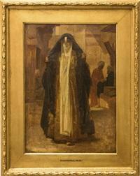 nordafrikans kvinna by frederick goodall