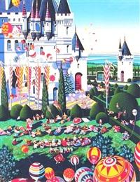 castle festival by hiro yamagata