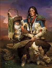 sacajawea and pomp by william harry (bill) ahrendt