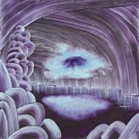 cloud sucking in light by christian hidaka