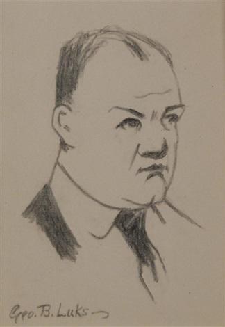 self portrait by george benjamin luks