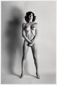 big nude iii: henrietta, paris by helmut newton