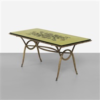 dining table by rené drouet