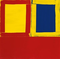 small red yellow and blue too by mary heilmann