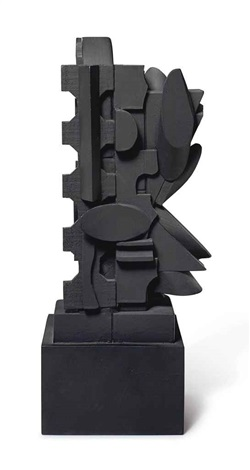 dark ellipse by louise nevelson