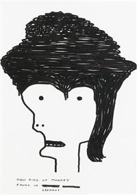 untitled (new kind of monkey) by david shrigley
