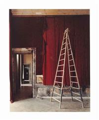salle d'introduction aux galeries historiques, versailles, 1985 by robert polidori