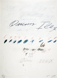 ilex quercus (from natural history, part ii: some trees of italy) by cy twombly