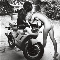 untitled, helmut's angels for playboy by helmut newton