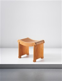 stool, model no. mt, 1927 by pierre chareau