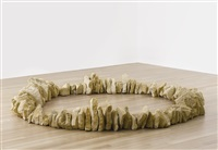 bath stone circle by richard long