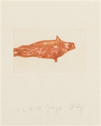 sea angel seal 2 by joseph beuys