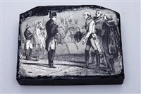 lot de quinze matrices de bois gravés du mémorial de sainte-hélène by nicolas toussaint charlet