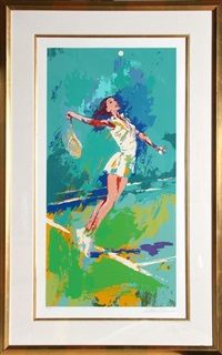 sweet serve by leroy neiman
