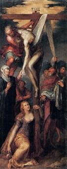 cristo deposto dalla croce by giuseppe (salviati) porta