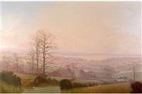 winter landscape by john miller