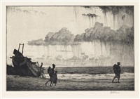 showers on the bay by martin lewis
