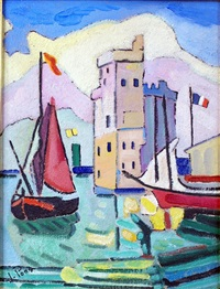 le port de la rochelle by jacques pons