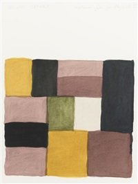 yellow corner by sean scully