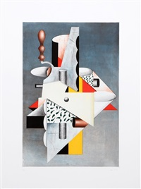 cubist composition by will mentor