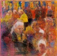 a crowd by rafael wardi