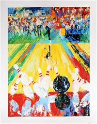 million dollar strike by leroy neiman
