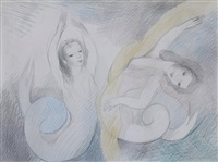 mermaids by marie laurencin