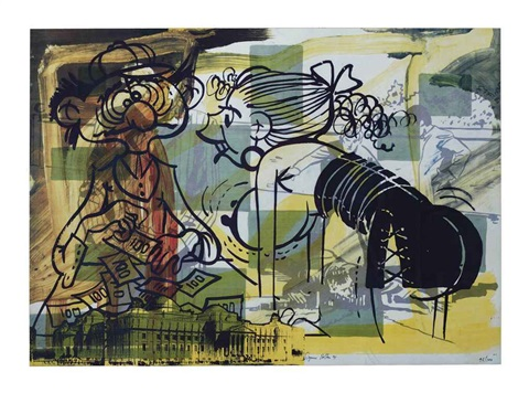 leave the lab and enter the office by sigmar polke