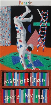 parade: metropolitan opera by david hockney