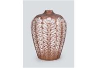 vase: tournai by rené lalique