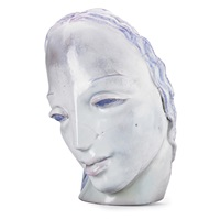 large mask-type head by waylande gregory