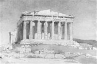 dorische tempelanlage in athen by max alioth