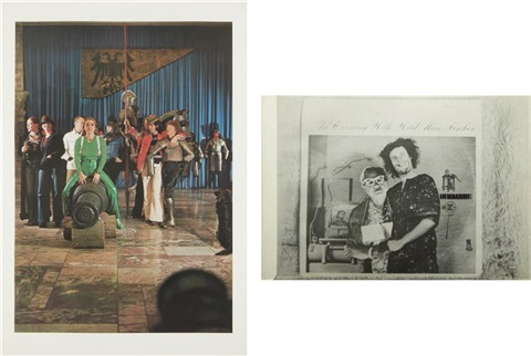 zeughaus arsenal and bizarre 2 works by sigmar polke