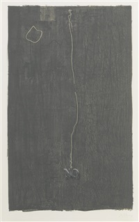 no (ulae 71) by jasper johns