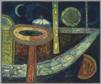 fair at night (+ promontary; 2 works) by anne e. christopherson